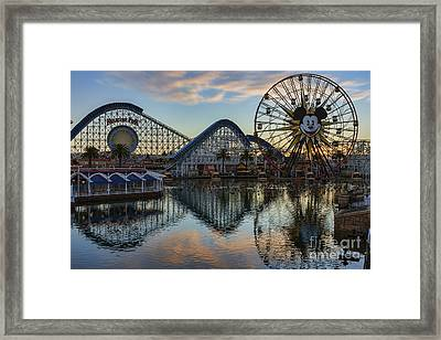Disney California Adventure Reflections Framed Print