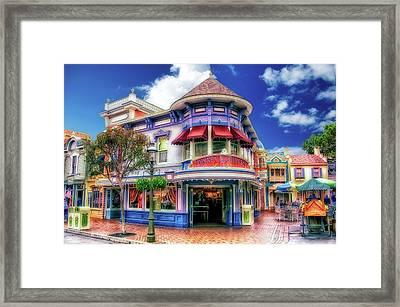 Disney Clothiers Main Street Disneyland 01 Framed Print