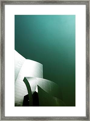Disney Concert Hall 3- Photograph By Linda Woods Framed Print by Linda Woods