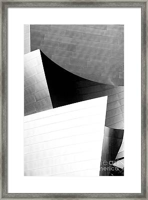 Disney Concert Hall California 21 Framed Print by Micah May