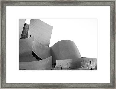 Disney Concert Hall California 22 Framed Print by Micah May