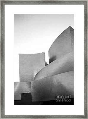 Disney Concert Hall California 23 Framed Print by Micah May
