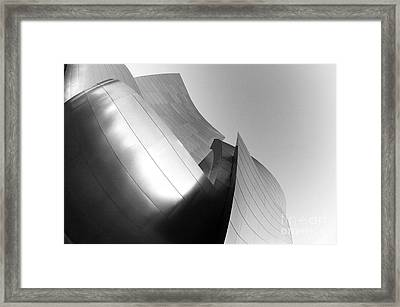 Disney Concert Hall California 25 Framed Print by Micah May