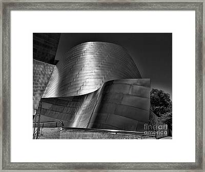 Disney Concert Hall IIi Framed Print by Chuck Kuhn