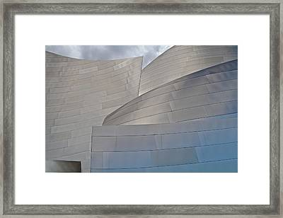 Framed Print featuring the photograph Disney Concert Hall by Kim Wilson