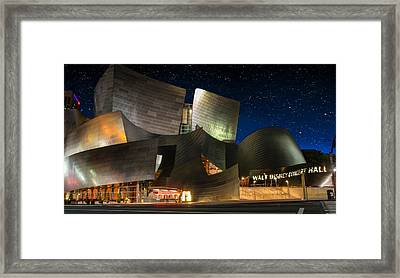 Disney Concert Hall Framed Print by Robert Hebert