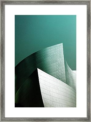 Disney Conert Hall 2- Photograph By Linda Woods Framed Print by Linda Woods
