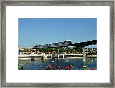 Disney Monorail Framed Print
