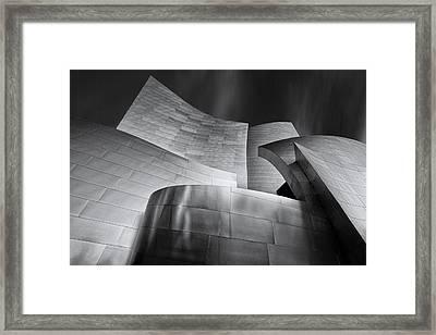 Disney Music Hall Framed Print by Steve Buffington