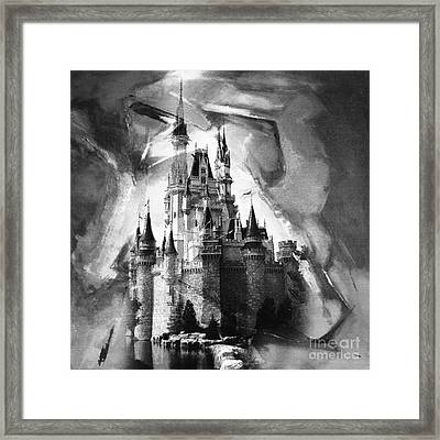 Disney World 031 Framed Print