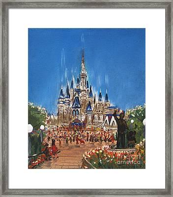 Disney World Framed Print