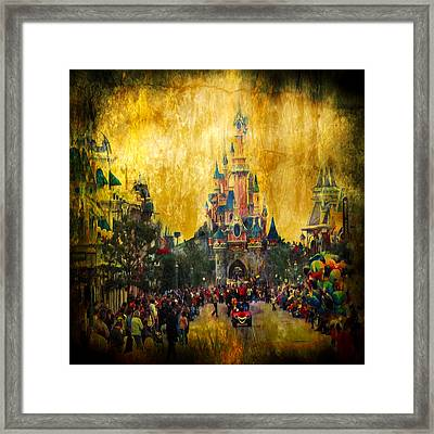 Disney World Framed Print