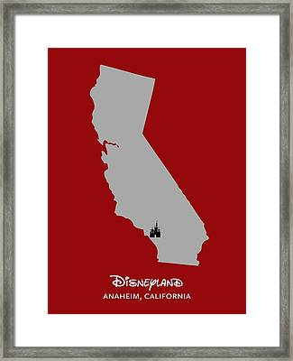 Disneyland Framed Print