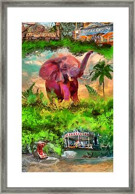Disney's Jungle Cruise Framed Print by Caito Junqueira