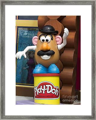 Mr Potato Head Character Framed Print by Joys Photography