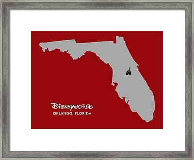 Disneyworld Framed Print by Nancy Ingersoll