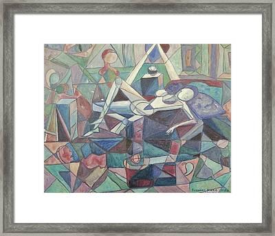 Dispair Framed Print by Suzanne  Marie Leclair