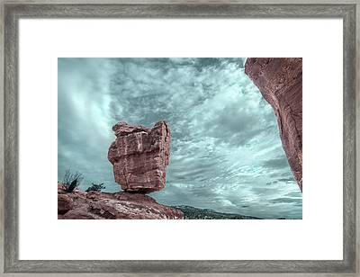 Disparate Colors  Framed Print