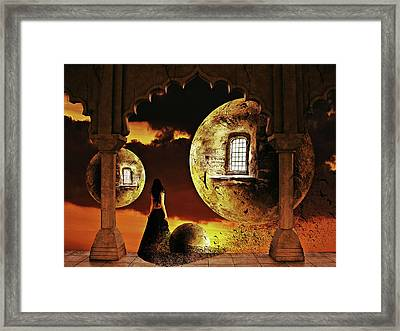 Dispersion Dream Framed Print by Mihaela Pater