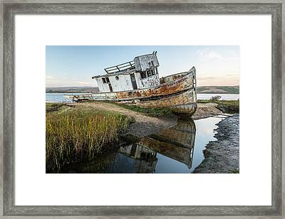 Disrepair In Point Repair Framed Print
