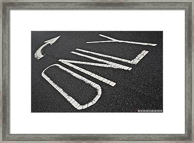 Dissident Framed Print by Jonathan Ellis Keys