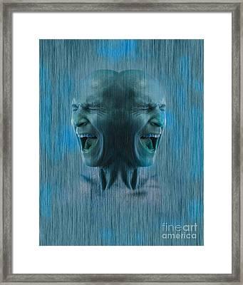 Dissociative Identity Disorder Framed Print
