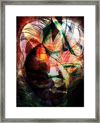 Dissolution 16 Framed Print