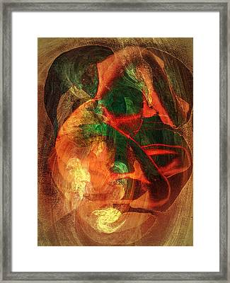 Dissolution 19 Framed Print