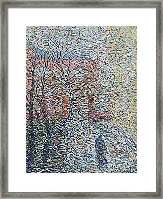 Dissolve In Rain    Framed Print