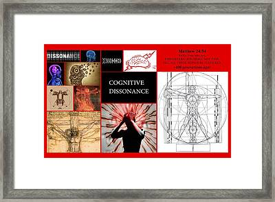 Dissonance Framed Print by Peter Hedding
