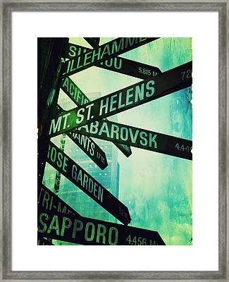 Distance From Here Framed Print