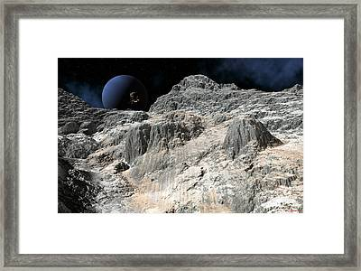 Distance Future Framed Print