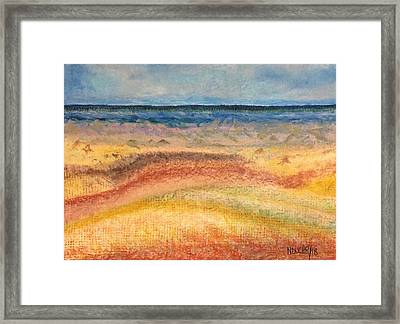 Framed Print featuring the painting Distance by Norma Duch