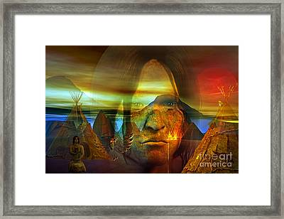 Distant Drum Framed Print by Shadowlea Is