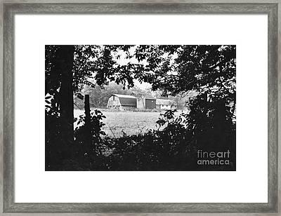 Distant Farm Framed Print
