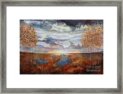 Distant Field Framed Print