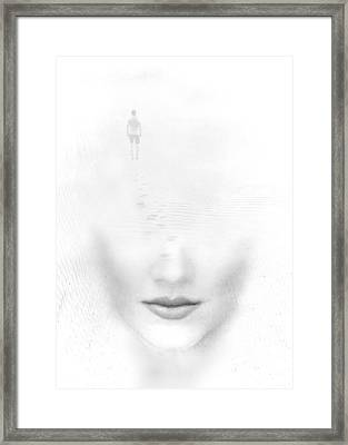 Distant Footsteps Framed Print