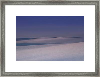 Distant Mountain Framed Print by Jack Zievis