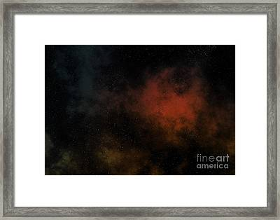 Distant Nebula Framed Print by Michal Boubin