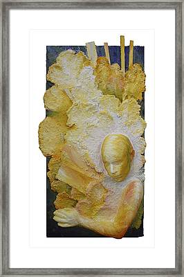 Distant Sharing I - Sent Framed Print by Rosemary Wessel
