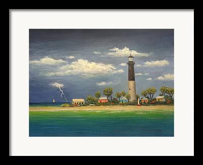Dry Tortugas Paintings Framed Prints