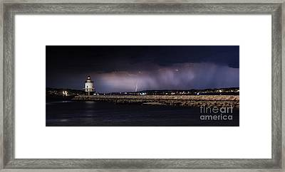 Distant Storm Framed Print by Scott Thorp