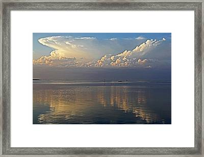 Distant Thunder Framed Print by HH Photography of Florida