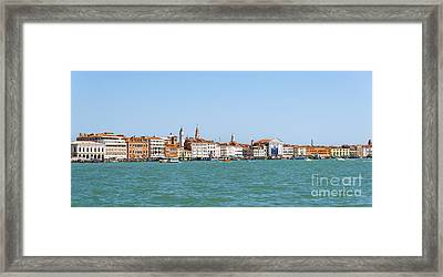 Distant Venice Framed Print by Svetlana Sewell