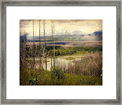 Distant View Framed Print