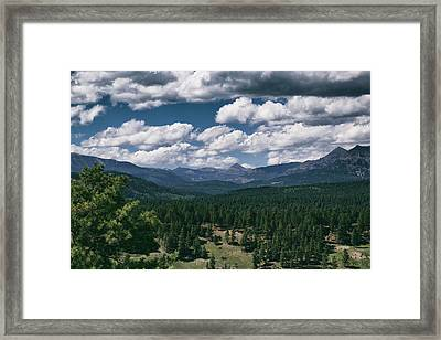 Distant Windows Framed Print by Jason Coward