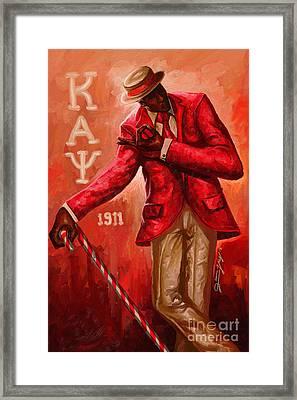 Distinguished Kappa Alpha Psi Framed Print