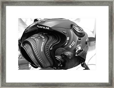 Distorsions 1 Framed Print by Mihail Antonio Andrei