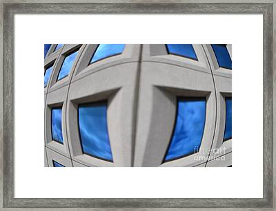 Distorted Reality 1 Framed Print by Eva Maria Nova