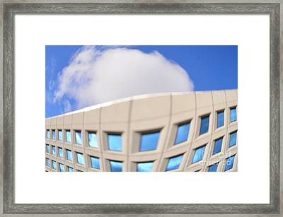 Distorted Reality 2 Framed Print by Eva Maria Nova